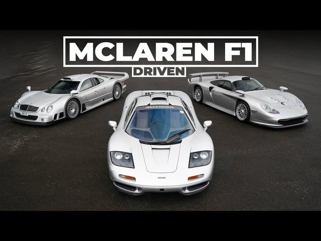 McLaren F1, Porsche 911 GT1, Mercedes CLK GTR: The ULTIMATE Group Test, Part 1 | Carfection 4K