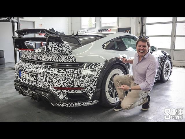NEW TechArt GT Street R! EXCLUSIVE Prototype 911 Turbo S Test Drive