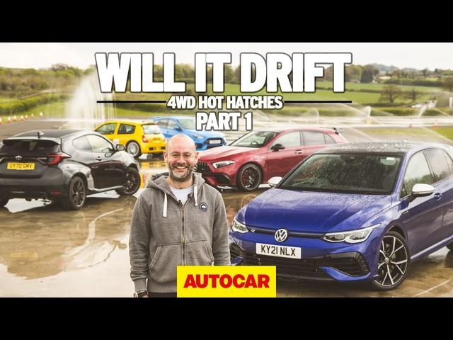 Will it drift? The Volkswagen Golf R | 4wd hot hatchbacks part 1 | Autocar