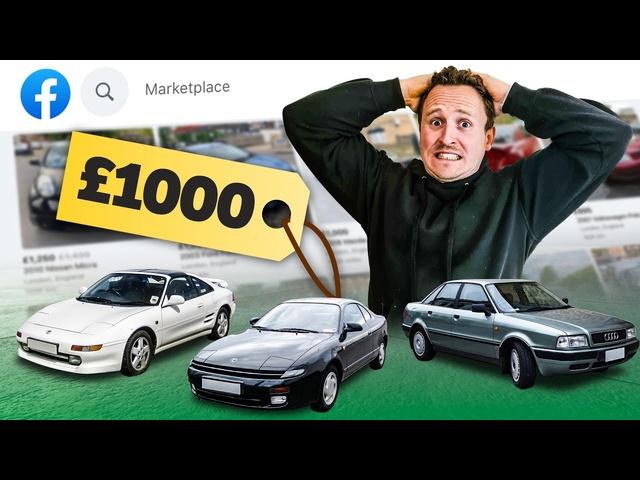 £1000 Facebook Marketplace Cheap Car Challenge
