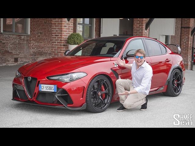 THIS is the New Alfa Romeo Giulia GTAm! FIRST DRIVE