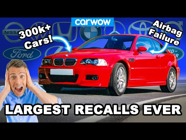 The largest SAFETY recalls for each major car brand! OMG!