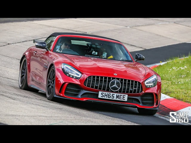 MY UNLUCKIEST CAR?! First AMG GT R Roadster Nurburgring Laps