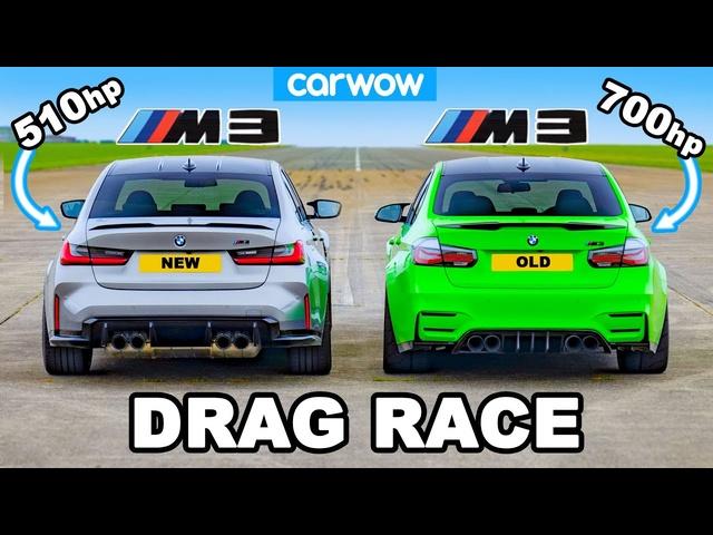 New <em>BMW</em> M3 v Old 700hp M3: DRAG RACE