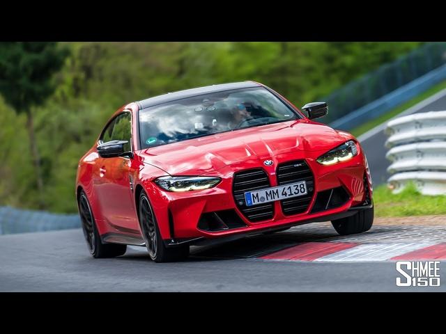 <em>BMW</em> M4 G82 Nurburgring Lap! Is the MANUAL Better than Auto?