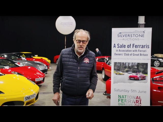 2021 Silverstone Auctions Ferrari Sale preview. In association with Ferrari Owner's Club of GB