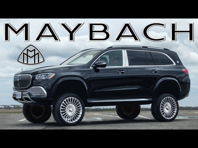 BOUNCING MAYBACH! 2021 Mercedes-Maybach GLS 600 Review