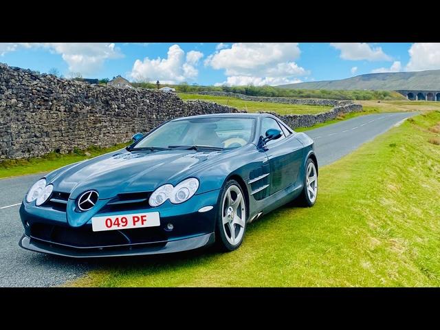 Mercedes SLR McLaren 'MSO' 1000 mile road-trip special. Lake District, Donald Campbell, Bluebird