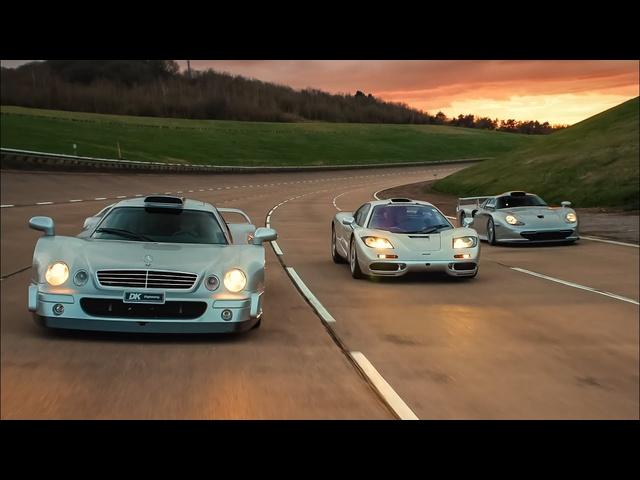 BONUS EPISODE: McLaren F1, <em>Porsche</em> 911 GT1, Mercedes CLK GTR Group Test | Carfection 4K