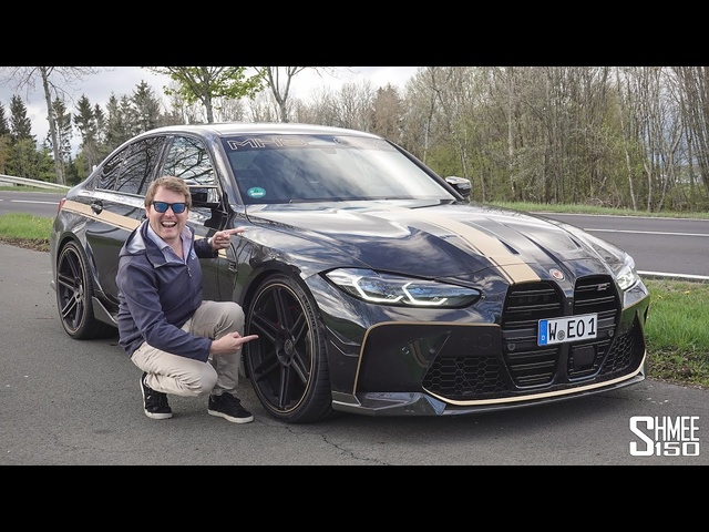0-297km/h VMAX SPRINT in New Manhart MH3 600! FIRST Tuned <em>BMW</em> G80 M3 Competition