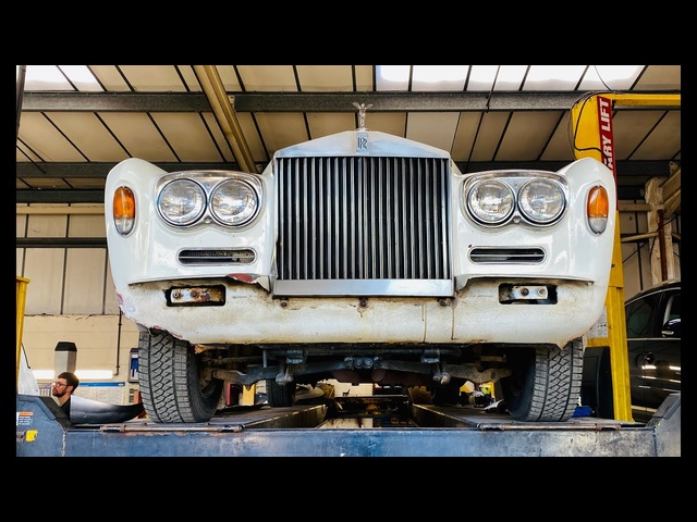 Arctic Rolls Royce Shadow makeover. Part 1. Just how bad is the rust on my £4k eBay Rolls?