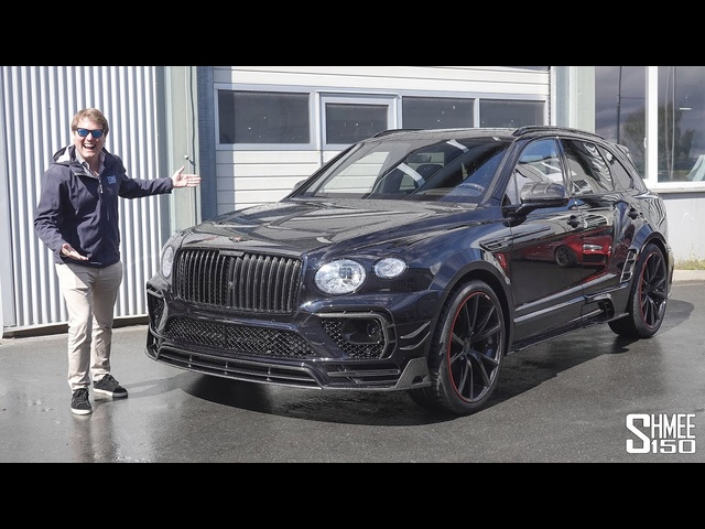 NEW Mansory Bentayga Wide Body! MY FIRST DRIVE in the MENTAL 750hp SUV