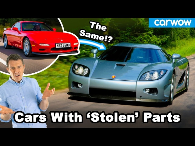 13 legendary cars... Which 'stole' from cheaper cars!