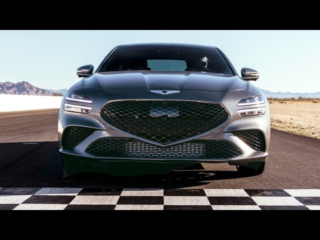 Introducing the Redesigned 2022 Genesis G70 | MotorTrend