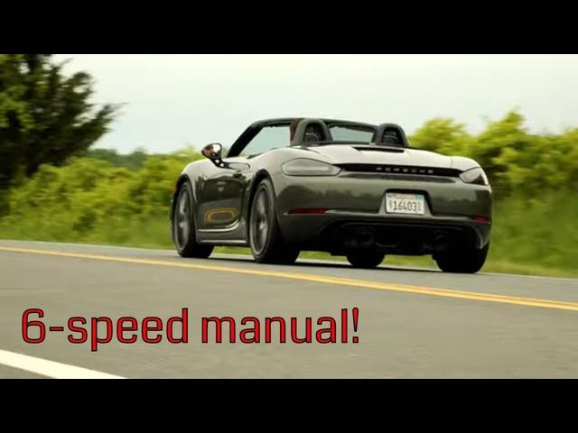 2021 Porsche 718 Boxster GTS 4.0 | Return of the Flat-6
