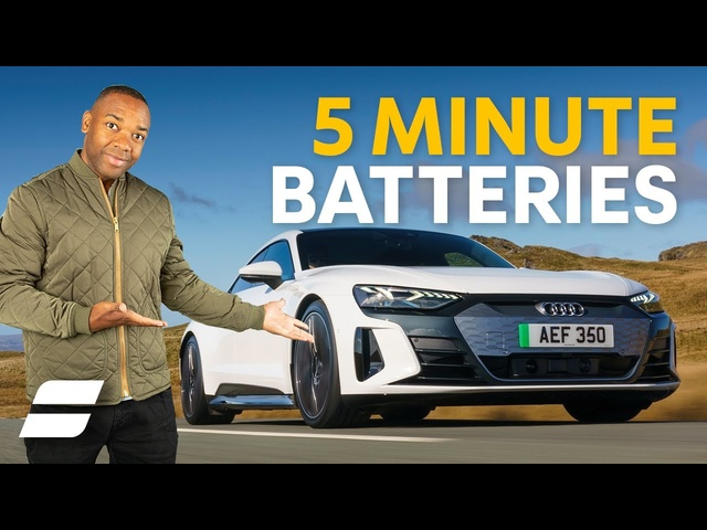 How Electric Car Batteries Will Charge in 5 Minutes