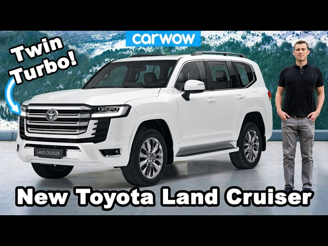 New Toyota Land Cruiser -see why it's even tougher than ever before!