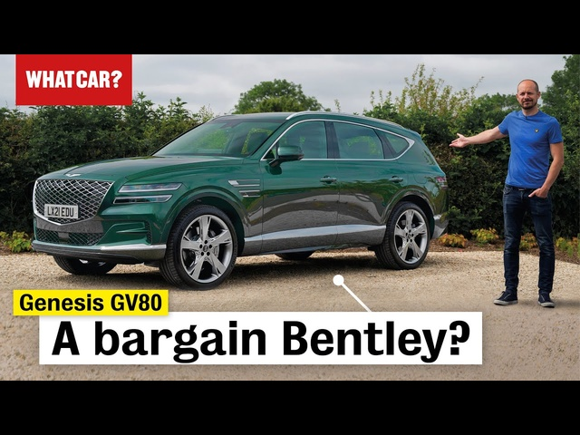 2021 Genesis GV80 SUV review – is Hyundai's new Bentley any good? | What Car?