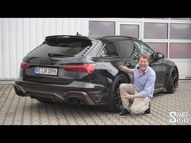 New ABT RS6 Johann Abt Signature Edition SUPER WAGON! FIRST LOOK
