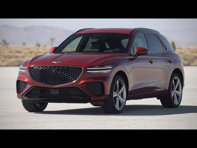 INSIDE & OUT: Introducing The First-Ever 2022 Genesis GV70 | MotorTrend