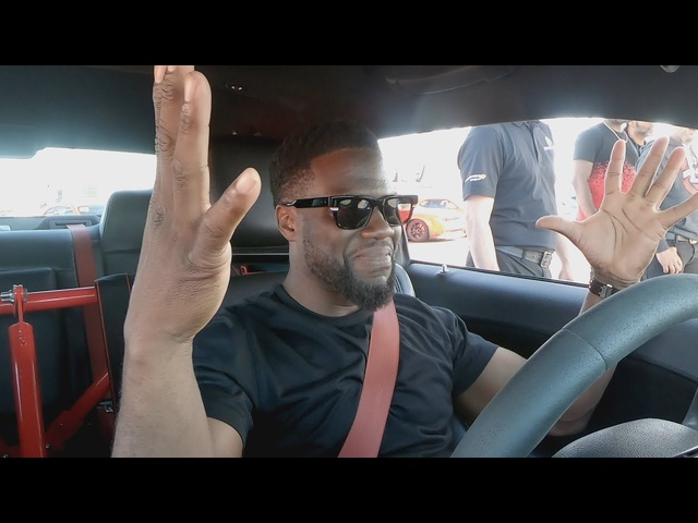 Kevin Hart Drifting! | Kevin Hart's Muscle Car Crew | MotorTrend