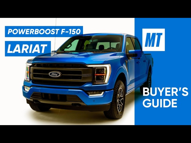 Hybrid F-150? 2021 Ford F-150 Lariat REVIEW | MotorTrend Buyer's Guide