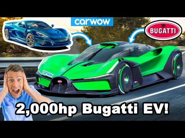 New electric Bugatti could do 0-60mph in ONE second!?!