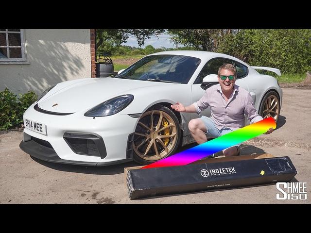 NEW COLOUR for My <em>Porsche</em> 718 Cayman GT4!