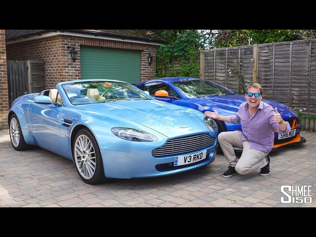 I FOUND THE FIRST SHMEEMOBILE! My Old Aston Martin Vantage Roadster