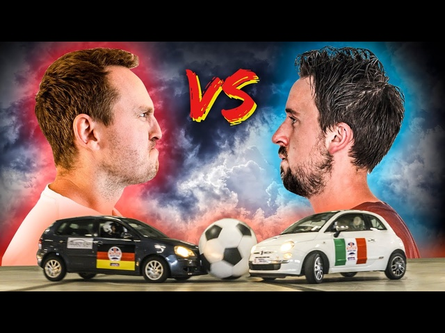 Volkswagen Polo Vs Fiat 500: £200 Car Football Battle