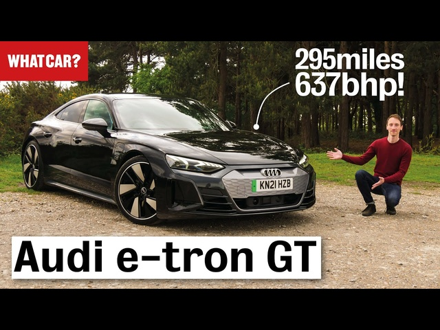2021 Audi e-tron GT review – why it's better than aTesla (in some ways...) | What Car?