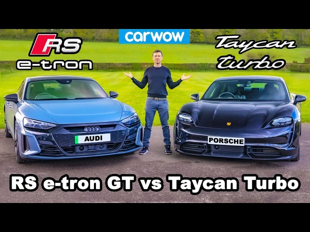 Audi RS e-tron GT v Porsche Taycan Turbo -which is best?