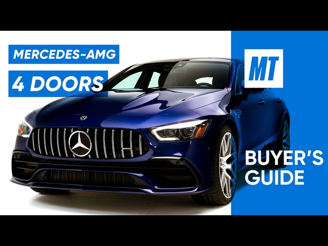 Should You Buy a2021 Mercedes-AMG GT43? | MotorTrend Buyer's Guide