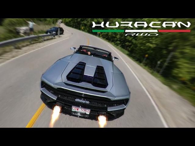 2021 <em>Lamborghini</em> Huracan EVO RWD Spyder