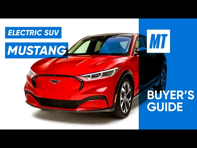 Electric Mustang SUV?? 2021 Ford Mustang Mach-E REVIEW | MotorTrend Buyer's Guide