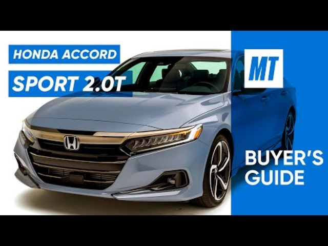 Best Family Car? 2021 Honda Accord Sport 2.0T REVIEW | MotorTrend Buyer's Guide