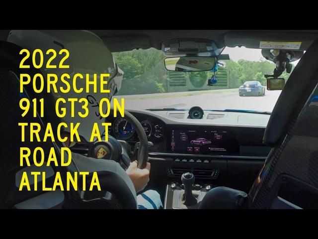 2022 <em>Porsche</em> 911 GT3 on Track at Road Atlanta