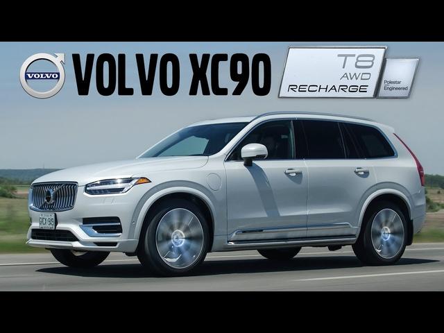 LUXURY! 2021 Volvo XC90 Recharge Review