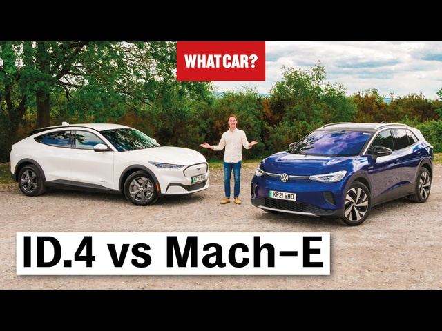 2021 VW ID.4 vs Ford Mustang Mach-E review – best electric SUV? | What Car?