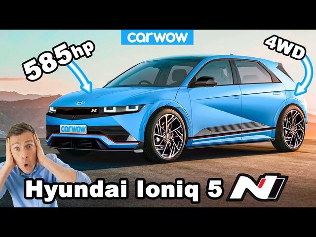 New 585hp Hyundai Ioniq 5 N: the AMG A45—slaying EV hyper hatch!