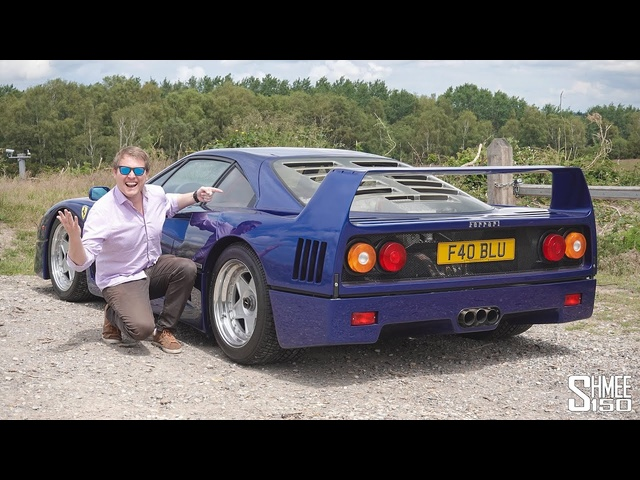 My Friend is SELLING His ONE-OFF Ferrari F40!