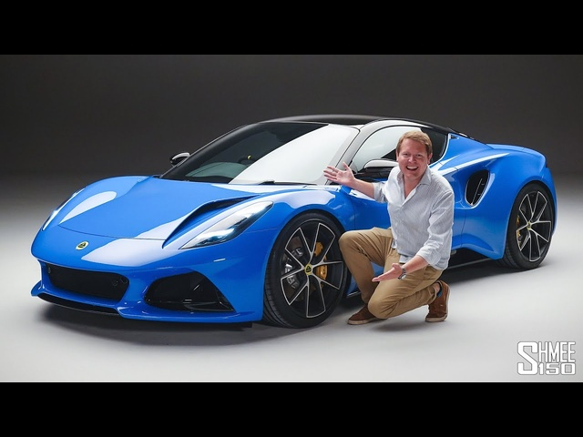 Check Out the New LOTUS EMIRA!   FIRST LOOK