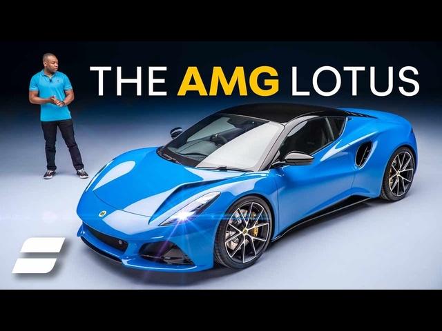New Lotus Emira: The LAST Petrol Lotus Has A<em>MERCEDES</em> Engine | 4K