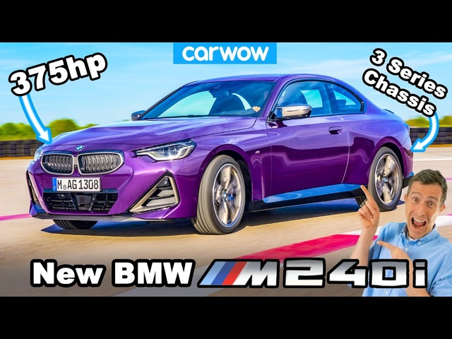 New <em>BMW</em> M240i & 2 Series Coupe: RWD-based chassis for the win!