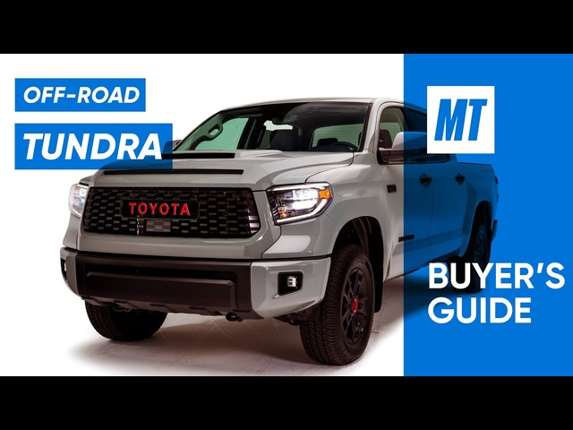 New Off-Road Features! 2021 Toyota Tundra TRD REVIEW | MotorTrend Buyer's Guide