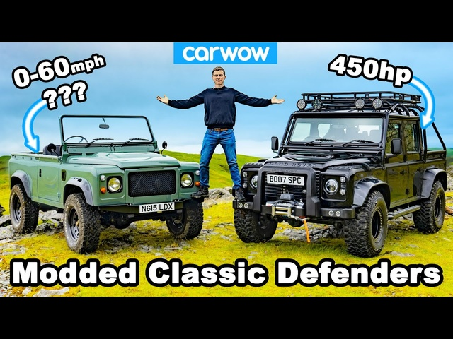 Tesla-powered Defenders review -blasted off-road and timed 0-60mph!