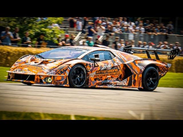 <em>Lamborghini</em> Essenza SCV12: On-Board At Goodwood Festival Of Speed | Carfection