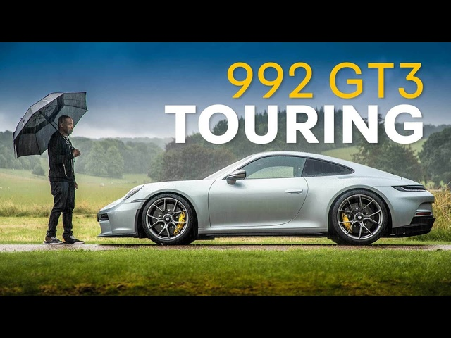 NEW Porsche 911 GT3 Touring Review: Less Is More Fun?   4K