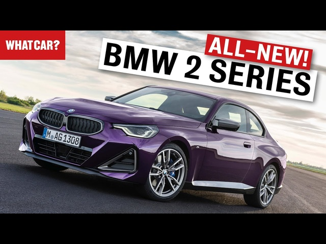 NEW 2022 <em>BMW</em> 2 Series Coupe in detail – rear-wheel drive, M240i, M2, normal grille! | What Car?