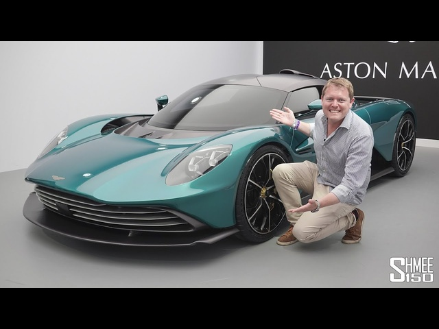 Check Out the NEW Aston Martin Valhalla! | FIRST LOOK
